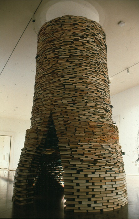 Cool Book Art | Step into a World Made Entirely of Books... (1/6)