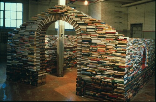 Cool Book Art | Step into a World Made Entirely of Books... (3/6)